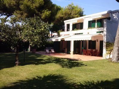 Photo for The Lemon Tree Villa, Paestum: Seaside, Huge Garden And Parking Facilities