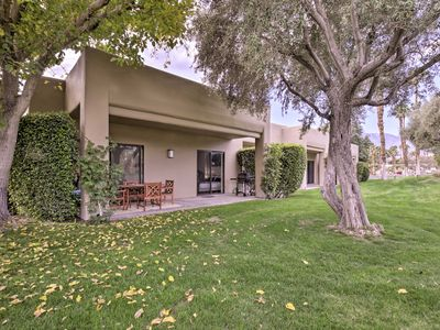 Photo for NEW! Cathedral City Condo w/Patio-Pool+Golf Access