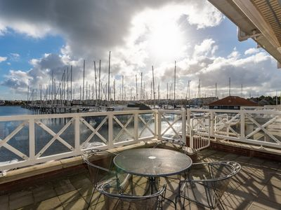 Photo for Marina Port Zélande luxury holiday apartment, lake, beach North Sea 6 persone