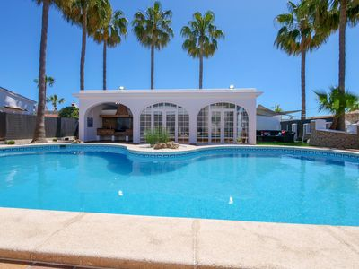 Photo for The stately villa Es Reines is located in the heart of Alcudia, only a few