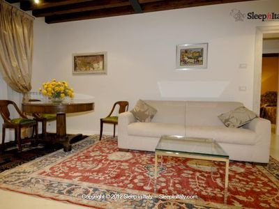 Photo for Torre San Marco Big 2 bedrooms elegant and charming