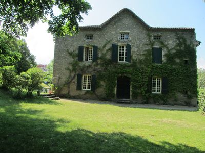 Photo for Holidays in Ardèche: family house 15p +.