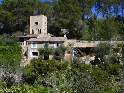 Photo for The paradise in the heart of Mallorca, very quiet and private