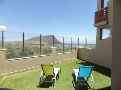 Photo for Peaceful apartment with scenic views in La Tejita