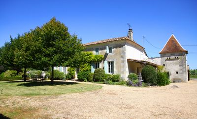 Photo for Large private Charentaise home with pool and beautiful gardens sleeps 10-13