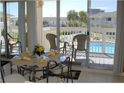 Photo for Beautiful 1BR right ON THE POOL!  One of the most booked units in SPC!