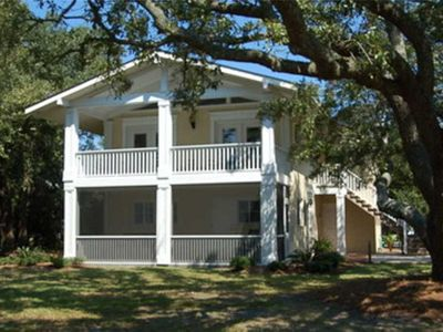 Photo for The Oaks: 5 BR / 3 BA house in Pawleys Island, Sleeps 12