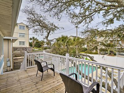 Photo for NEW! Duplex w/Pool Access- 100 ft to Crescent Beach