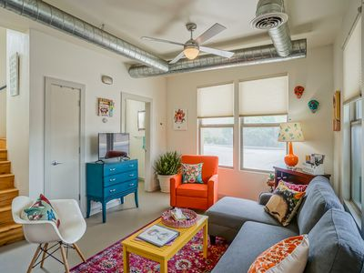 Photo for Frida Kahlo!  1bd/1.5ba Condo near Old Town/Sawmill.  Balcony, Patio!