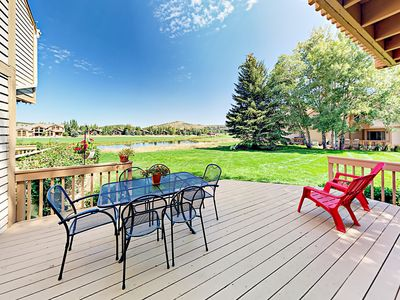 Patio - Welcome to Park City! This condo is professionally managed by TurnKey Vacation Rentals.
