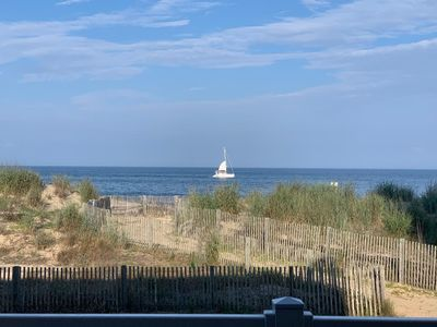 Photo for Oceanfront, three level, townhouse, sleeps 10, fully equipped