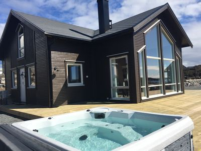 New cabin at the ocean coast, only 40 min drive from Bergen city