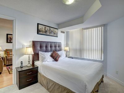 Photo for Bombay Suites Mississauga Furnished Apartments - 1 Bedroom and Den Furnished Apartment (1)