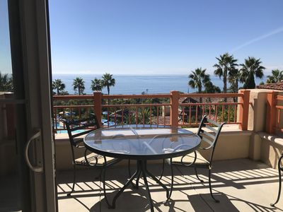 Photo for Beautiful location overlooking the Pacific Ocean and Pelican Hill golf course