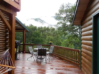 Photo for Cabin 5 bd 3 ba, Mountain View, 2 master suites, 2 dens