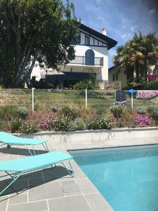 Photo for Saint Jean de Luz ⎜Prestigious house for 9pax ·  Swimming pool · Garden