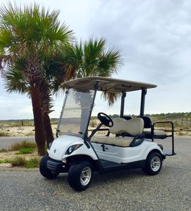 """Brand """"new"""" 2013 Yamaha gas-powered golf for your EXCLUSIVE use during your stay"""
