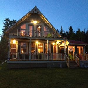 Photo for Luxurious year-round 2-storey Chalet With Nautical Decor Theme, Point Prim, PEI