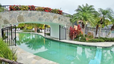 Photo for Beautiful  End Unit Condo with Stunning Tropical Lake Views