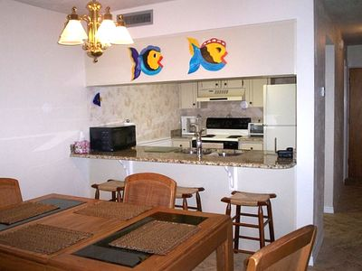 Kitchen/Dining- Flagler Beach Vacation Condo