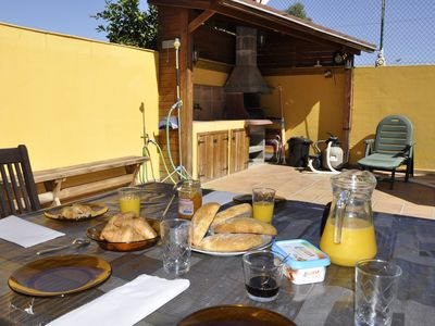 Photo for MAKARA - Beautiful house with barbecue, terrace, pool and beach at 300m!