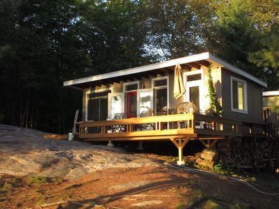 Photo for Muskoka Cottage on Small Bay  with access to large lake