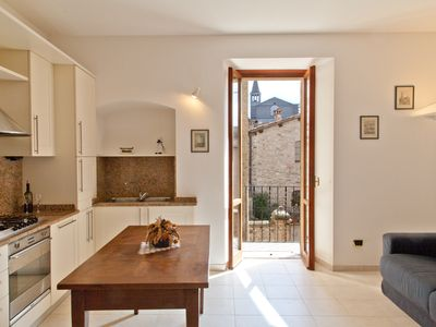 Photo for Tastefully restored accommodation property only 20 meters from the main piazza