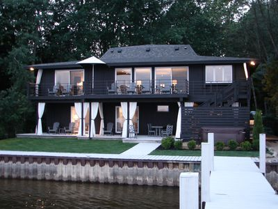 Photo for Luxury Waterfront Home - Best View in Saugatuck