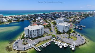 Photo for Dolphin Point unit 303A - Harbor Front Condo On Destin's Holiday Isle!