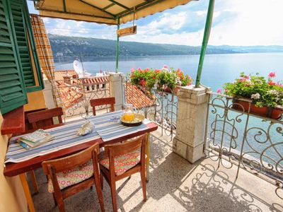 Photo for Studio flat near beach Opatija - Volosko (Opatija)