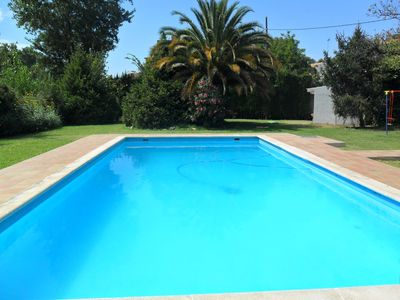 Photo for Luxury private villa with large garden and pool, enjoy with family - WIFI