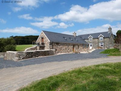 Photo for Vacation home Cow house in Tywyn - 10 persons, 5 bedrooms
