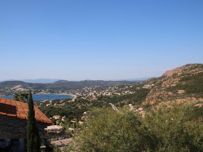 Photo for Anthéor - villa for 10 persons seen sea and Esterel