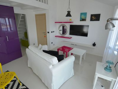Photo for Montevideo Olive apartment in Mali Losinj with WiFi, air conditioning & balcony.