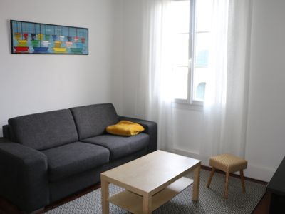 Photo for Cozy apartment, comfortable 200 m from the beach, 250 animations and shops