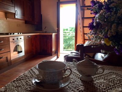 Photo for Borgo Anconella-Holiday home in a quiet village on the Tuscan-Emilian hills