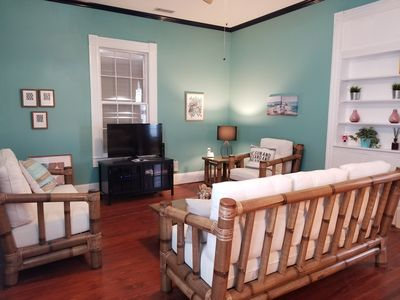 Photo for Tropical Charmer- 3BR, 2BA- WiFi, off- street parking