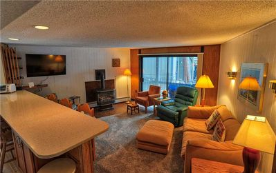 Photo for Gold Camp II E87: 2 BR / 1.5 BA condo in Breckenridge, Sleeps 4