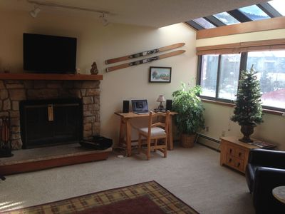 Photo for Large 1 Bedroom Condo in Copper Center Village... Walk to Slopes