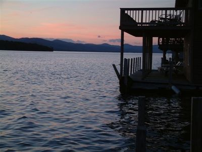 Photo for Westview on Lake George, Beautiful ,Lakefront Home, Perfect for Family Reunions