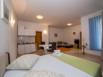 Photo for Studio apartment For Four Persons in City Center Makarska
