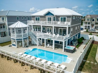 Photo for Aquatic Dreams | Oceanfront | Private Pool, Hot Tub