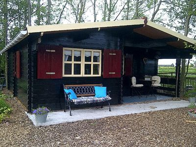Photo for Summerhouse on dairy and camping farm Veldhoeve