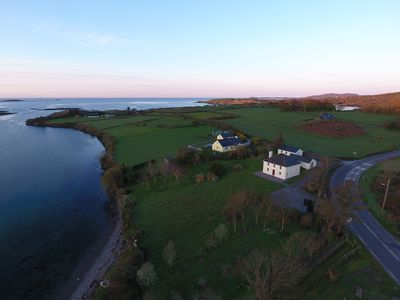 Strandville House, as seen from the air