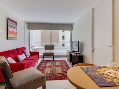 Photo for Chic condo w/ modern amenities & private balcony - close to public transit!