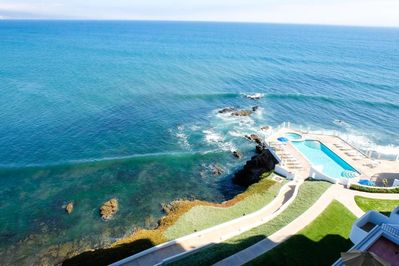 "Your breathtaking balcony view overlooking World Class ""K38"" surf break"