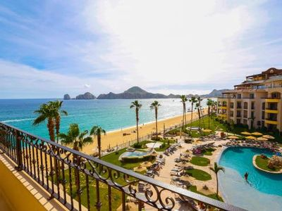 Photo for Beachfront with Stunning Views to Cabo San Lucas Bay, Lands End and Medano Beach