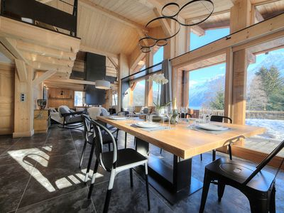 Photo for Private stunning chalet with incredible views