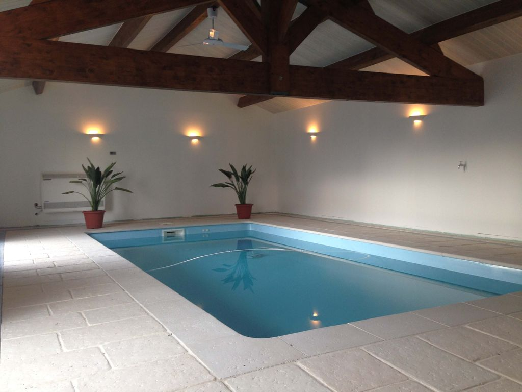 Luxury Farmhouse Coversion With Indoor Swimming Pool Ideal For Family Holidays Arcais Poitou