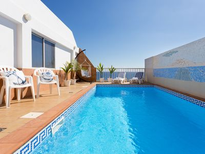 Photo for SEASIDE HOUSE WITH PRIVATE POOL